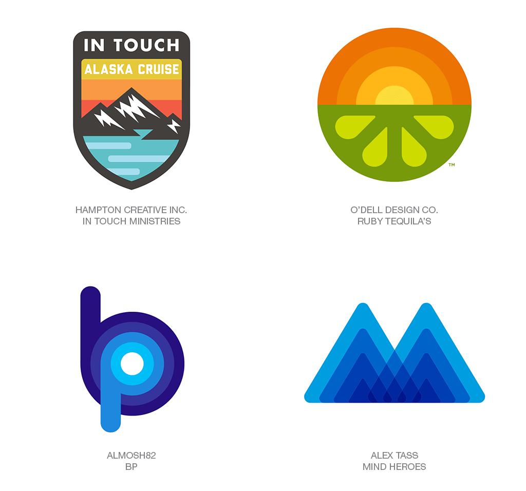 Xu hướng thiết kế logo 2018 - FATTY FADE