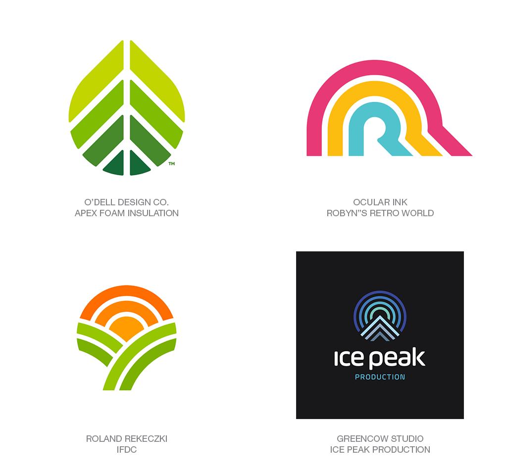 Xu hướng thiết kế logo 2018 - LINEAR FADE