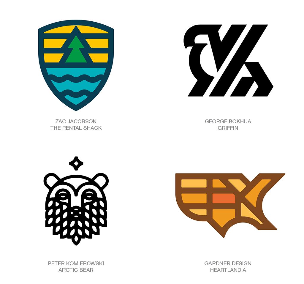 Xu hướng thiết kế logo 2018 - FIELD LINES