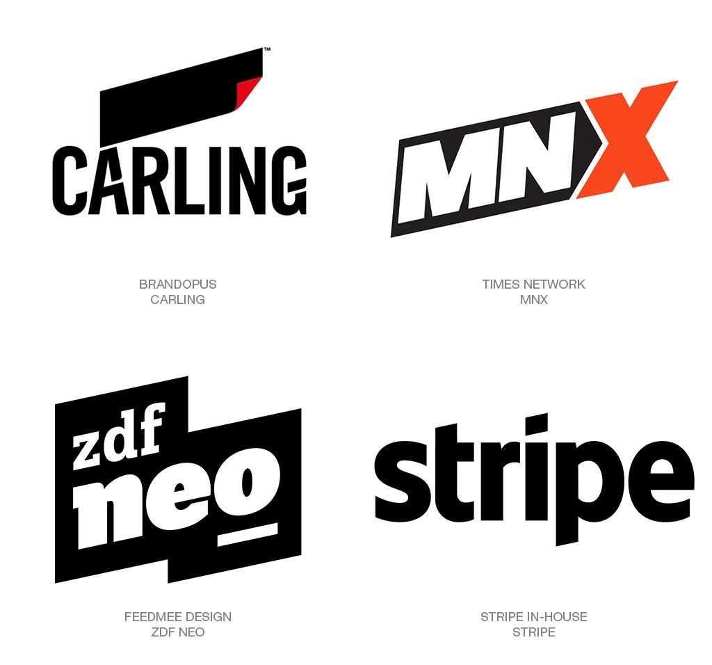 Xu hướng thiết kế logo 2018 - PARALLELOGRAM