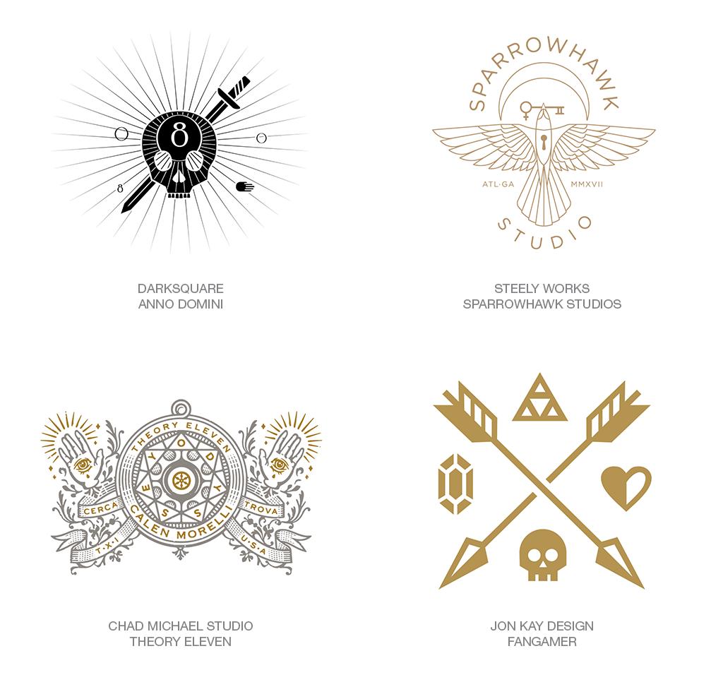 Xu hướng thiết kế logo 2018 - RELIGION