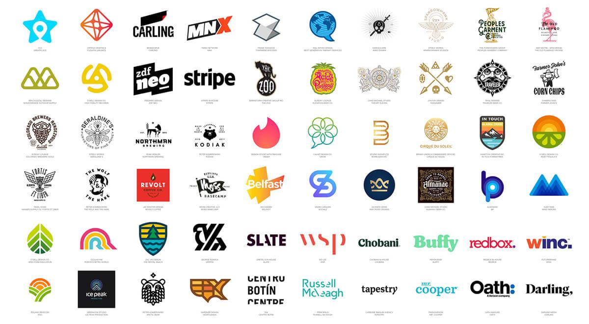 Cảm hứng & Xu hướng thiết kế Logo 2018