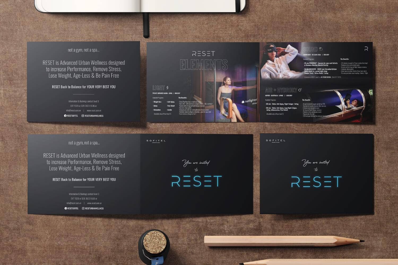 Thiết kế brochure RESET