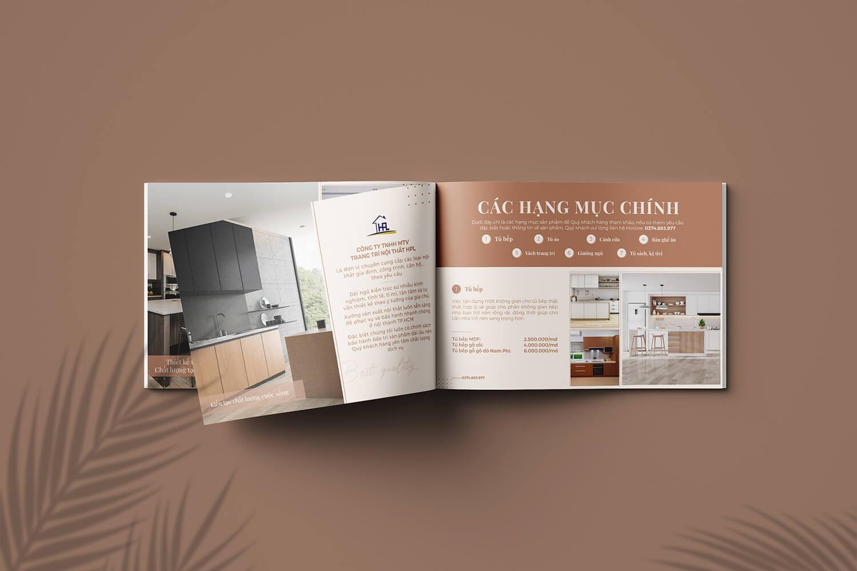 Thiết kế Catalogue Nội Thất HPL