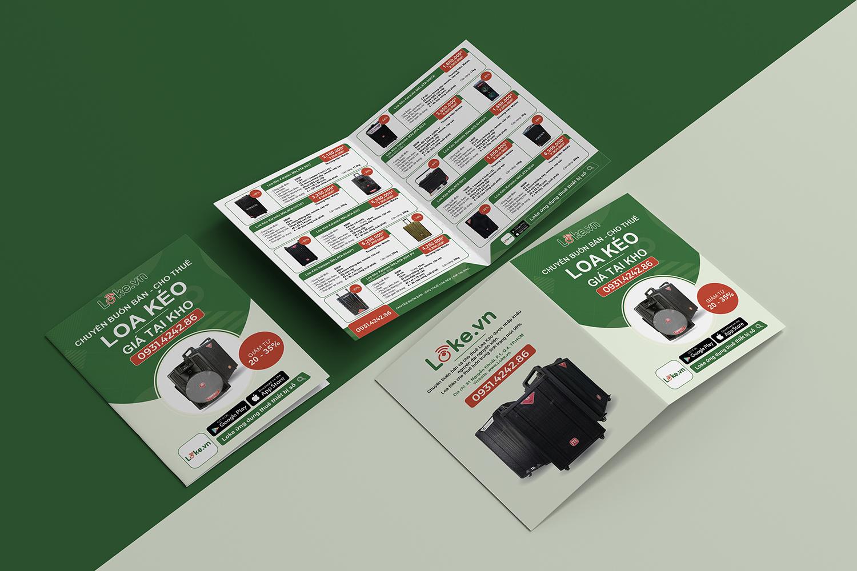Thiết kế Catalogue Loke