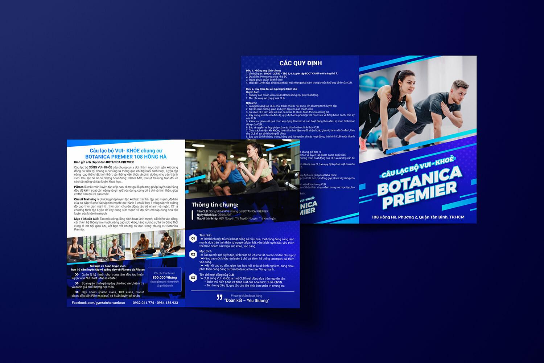 Thiết kế brochure Chung cư Botanica Premier