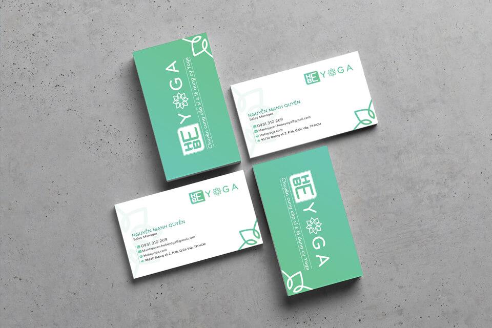Thiết kế Name Card Hebe Yoga